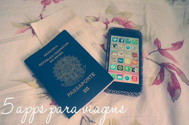 5 apps para viagens