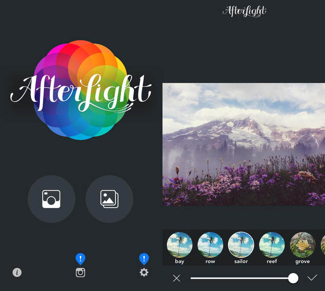 App para edição de foto
