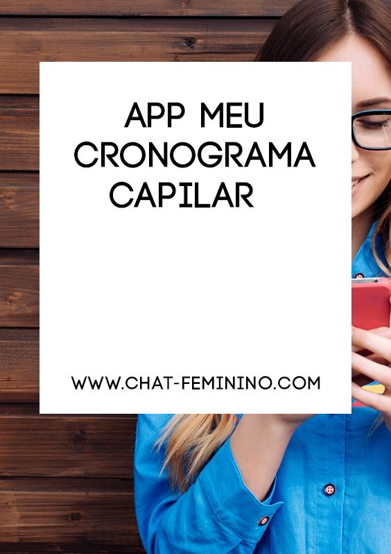 App Meu Cronograma Capilar