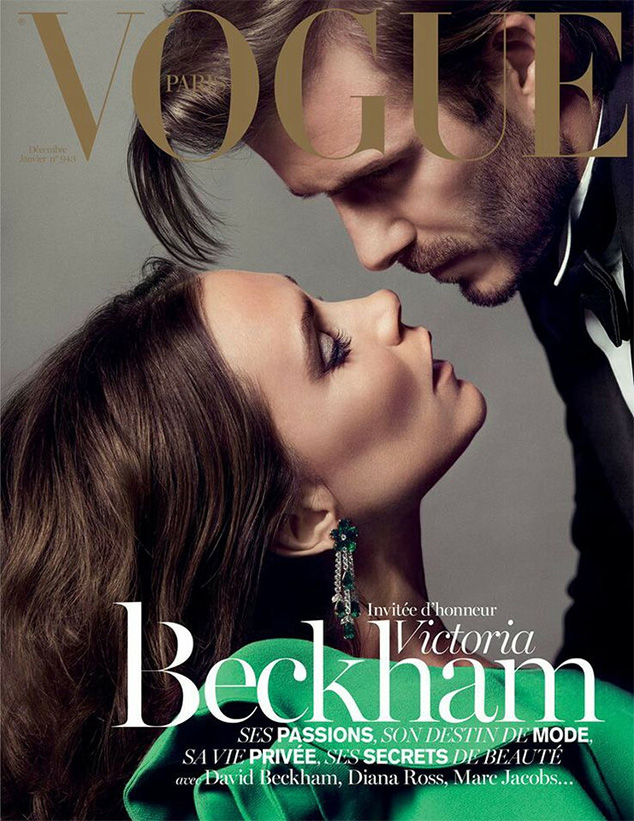David e Victoria Beckham na Vogue Paris