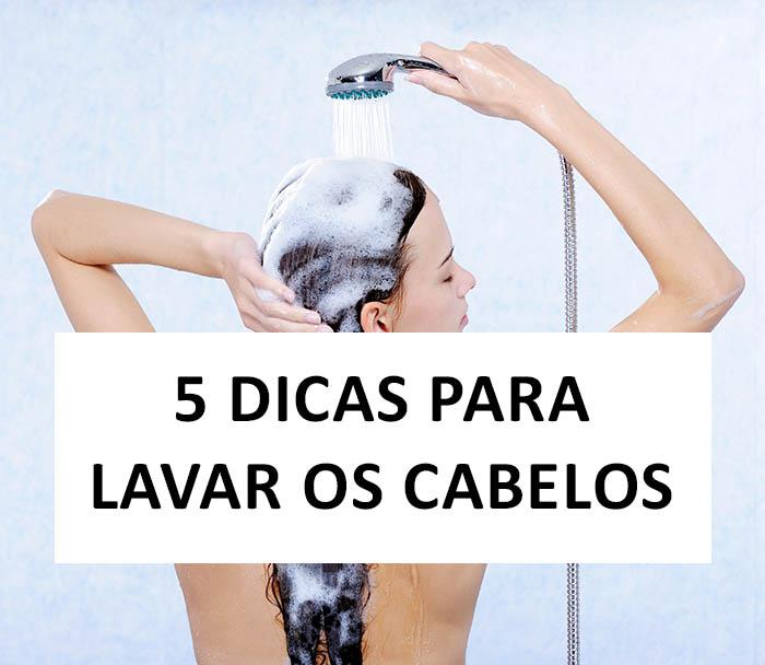 dicas para lavar os cabelos corretamente