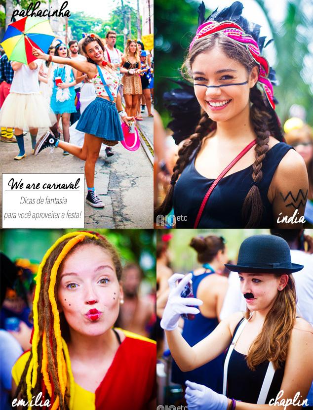 fantasias para o carnaval