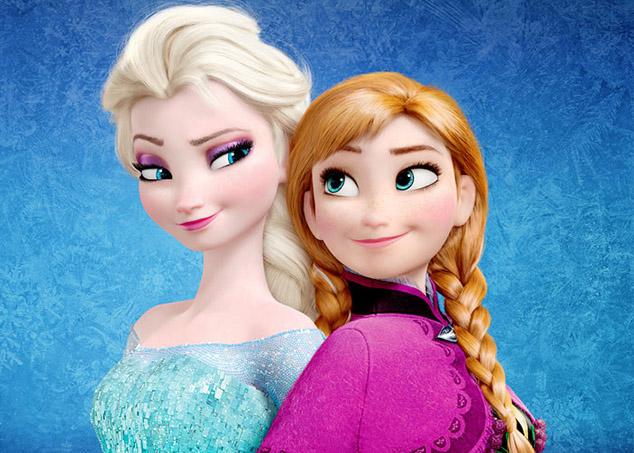 Irmãs Anna e Elsa