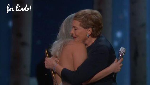 Gaga e Andrews Oscar 2015