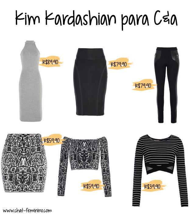 Kim Kardashian para C&a