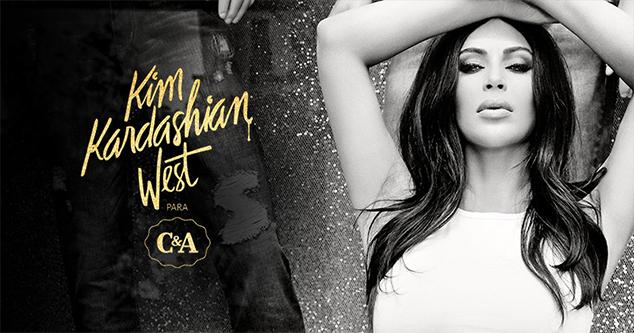 kim kardashian west para C&a