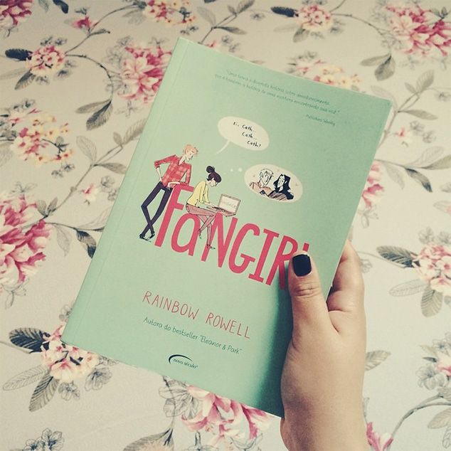livro fangirl
