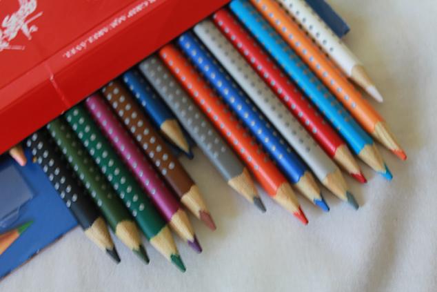lápis aquareláveis