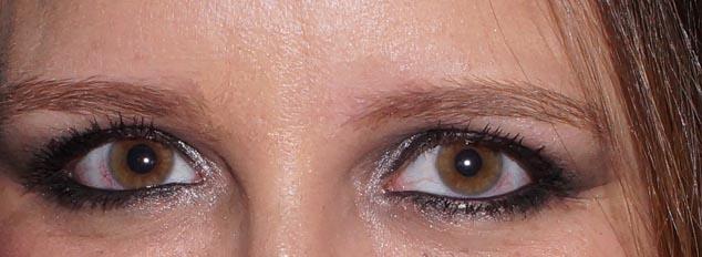 Maquiagem preta esfumado