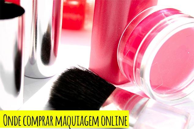 Onde comprar maquiagem online