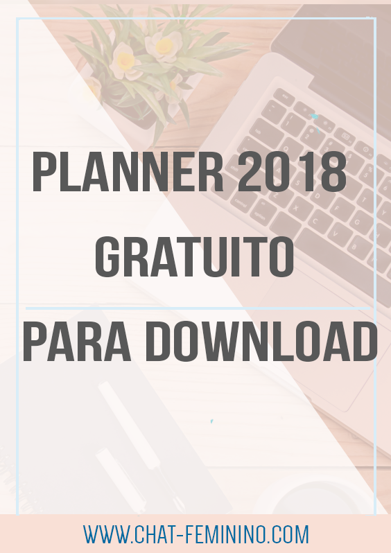 planner 2018 gratuito para download