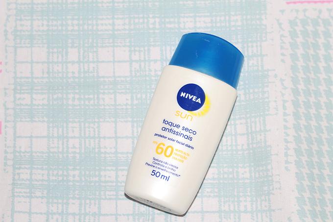 Protetor Facial Nivea Toque Seco Antissinais FPS 60