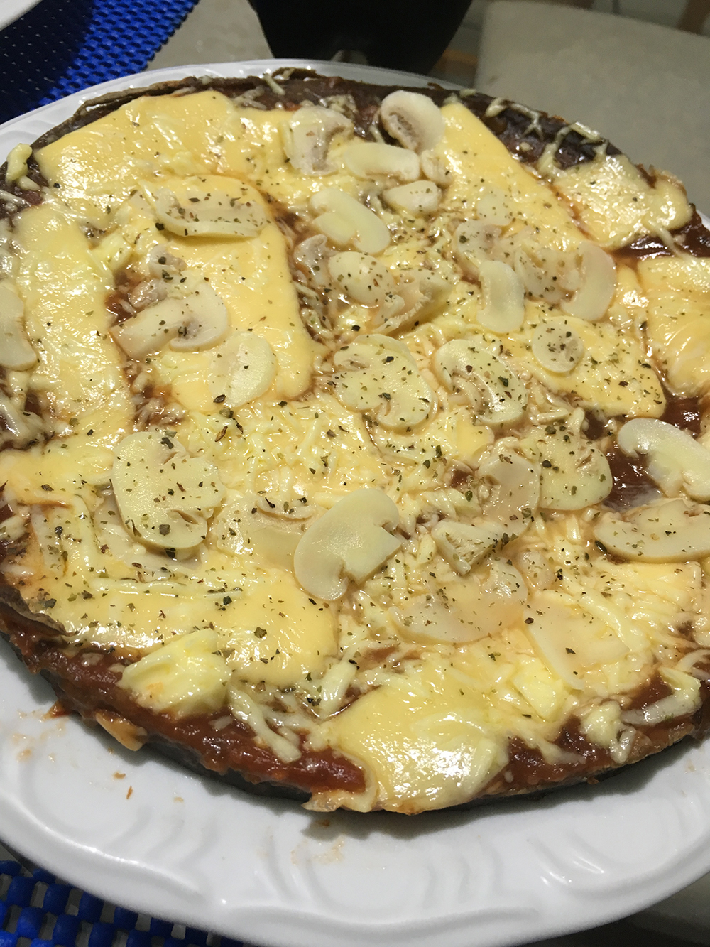Receita - Pizza Low Carb