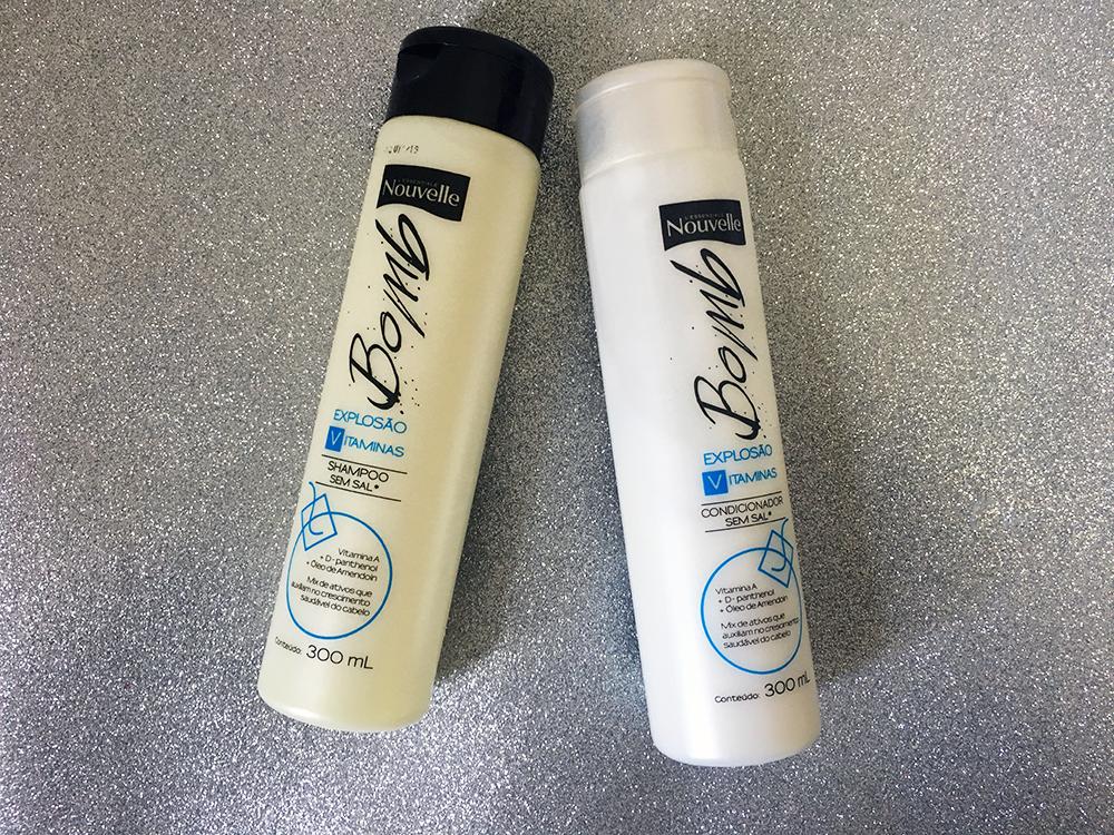 Shampoo e Condicionador Bomb V Nouvelle