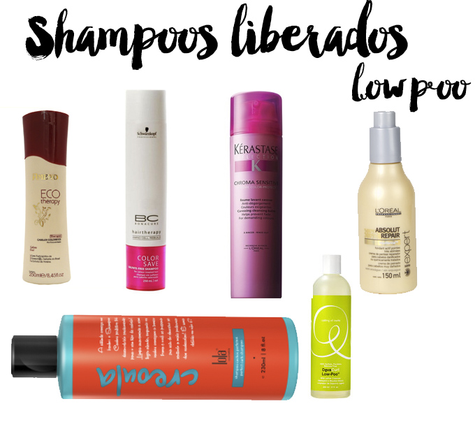 shampoos low poo