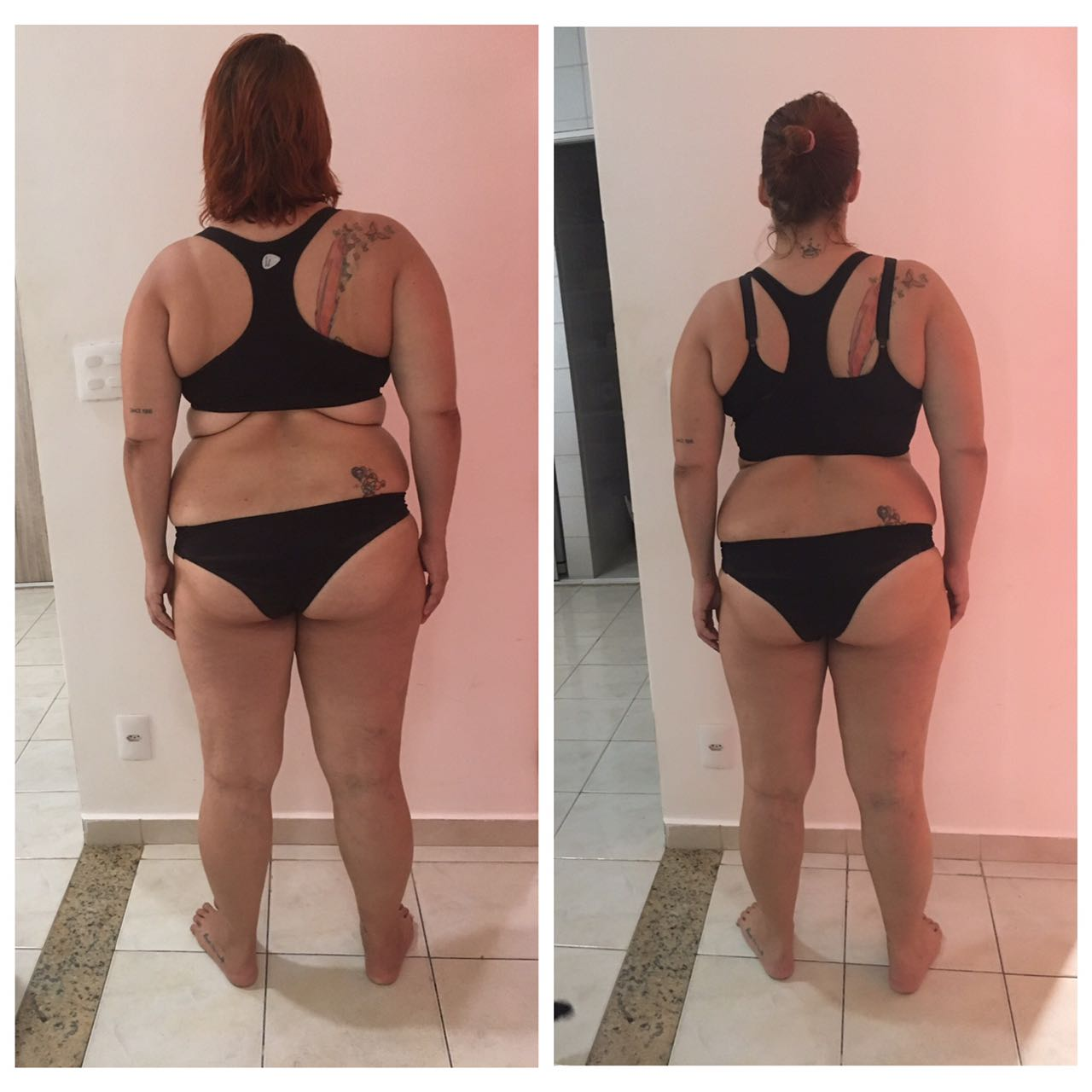 Antes e depois Whole30 - Suzana