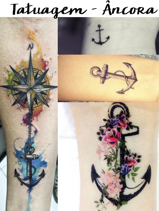 Tatuagem - âncora